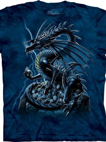 Lifestyle-Foto T-Shirt Wächterdrache von Schädeln