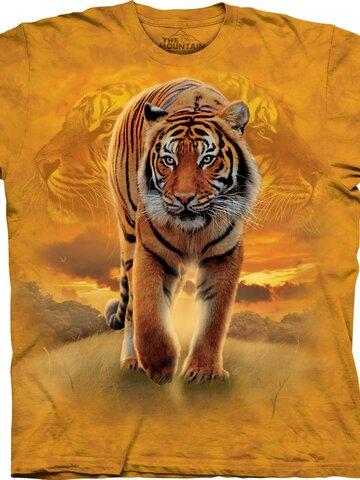 Ajándék tipp Tigris és a napkelte póló