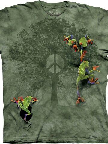 Eredeti ajándék a Dedolestől Béke és béka póló