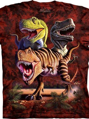 Foto Tyrannosaurus Rex póló