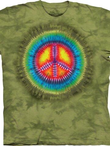 Eredeti és szokatlan ajándékot keres? a megajándékozottat garantáltan meglepi Tie-Dye béke póló