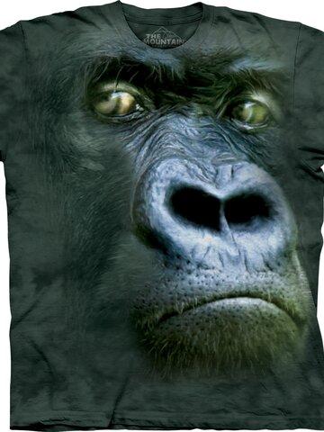 Výpredaj Tričko Portrét gorily