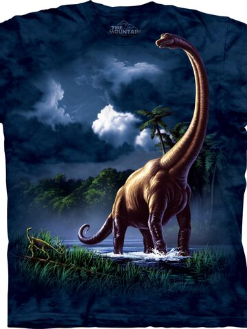 Suchen Sie ein originelles und außergewöhliches Geschenk? überrascht den Beschenkten sicher T-Shirt Brachiosaurus