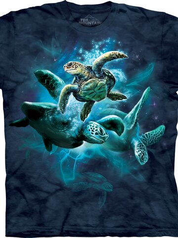 Potešte sa týmto kúskom Dedoles Sea Turtle Collage Adult