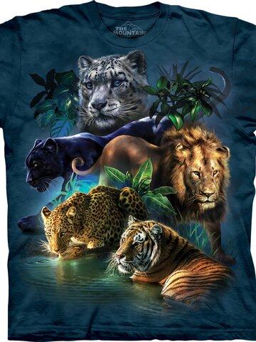 Lifestyle foto Tričko Veľké šelmy džungle
