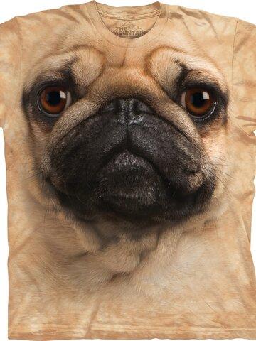 pentru outfit-ul perfect Pug Face Adult