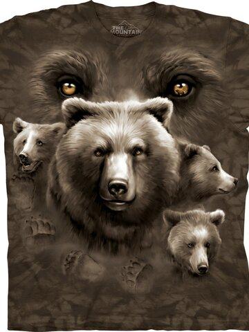 Zľava Tričko Oči medveďa