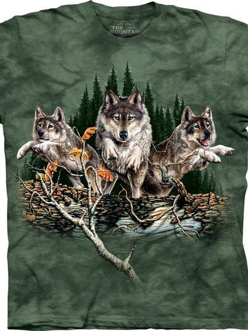 Sleva Tričko Najdi 12 vlků