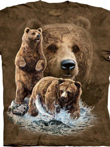 Výnimočný darček od Dedoles Tričko Nájdi 10 medveďov