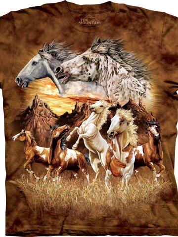 Lifestyle foto Tričko Nájdi 15 koní