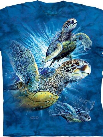 Hľadáte originálny a nezvyčajný darček? Obdarovaného zaručene prekvapí Find 9 Sea Turtles Adult
