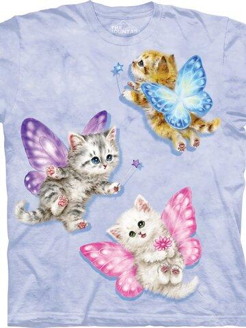 Lifestyle foto Tričko Mačičky s motýlikmi