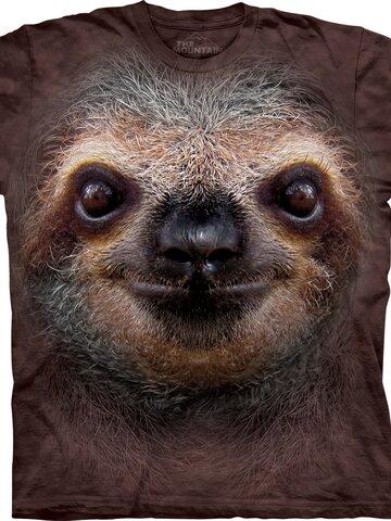 Pre dokonalý a originálny outfit Sloth Face Adult