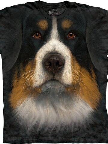 Potešte sa týmto kúskom Dedoles Tričko Tvár bernského salašníckeho psa