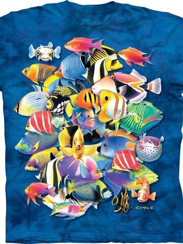 für ein vollkommenes und originelles Outfit T-Shirt Tropische Fische