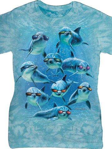 Výpredaj Dámske tričko Cool delfíny
