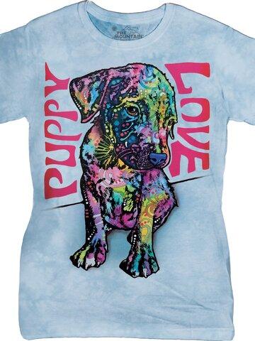 Geschenk von Dedoles Damen T-Shirt Russo Welpe