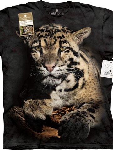 Bereiten Sie sich Freude mit diesem Dedoles-Stück T-Shirt Wolkiger Leopard
