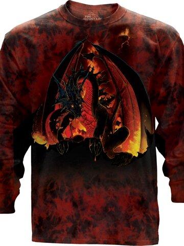 Wyprzedaż Fireball Long Sleeve T Shirt