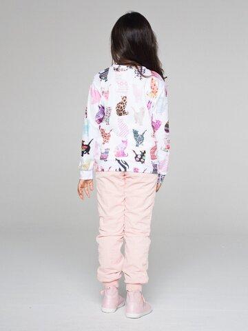 Potešte sa týmto kúskom Dedoles Otroški pulover brez kapuce Vzorčaste mačke