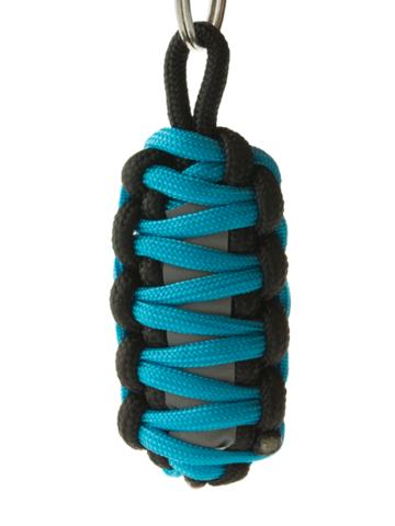 Bereiten Sie sich Freude mit diesem Dedoles-Stück King Cobra Reflektierender Paracord Schlüsselanhänger - blau