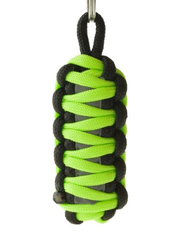 Obrázok produktu Reflexný paracord prívesok prežitia King Cobra - zelený