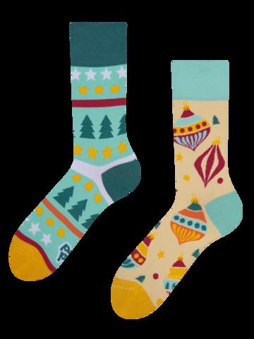 Sale Regular Socks Christmas Balls