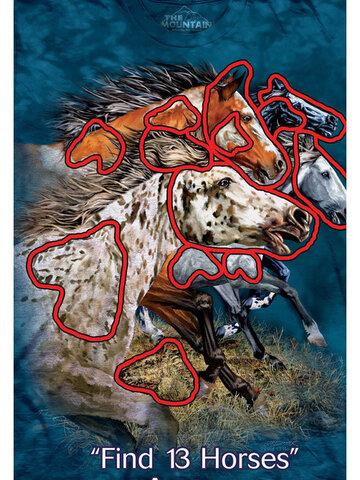 Potešte sa týmto kúskom Dedoles Find 13 Horses Child