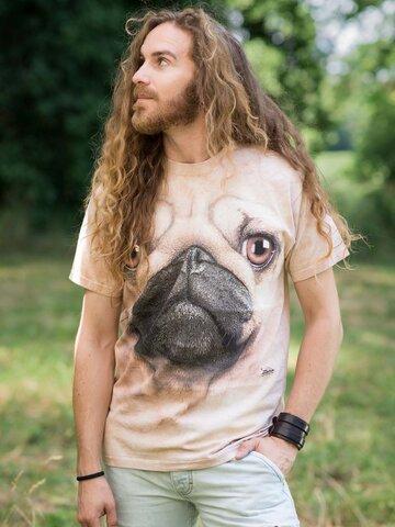 Indicație pentru cadou Pug Face Adult