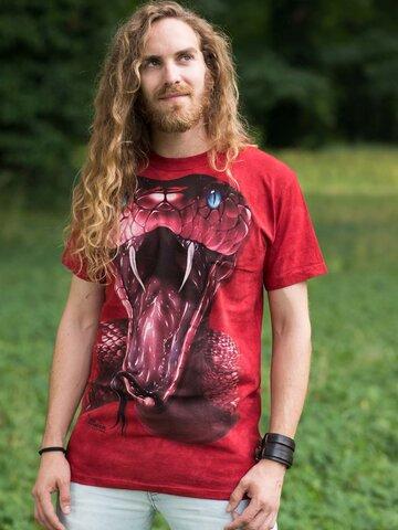 Pre dokonalý a originálny outfit Tričko Červená mamba