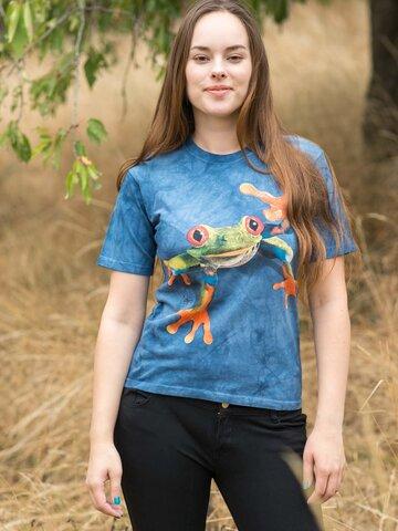 Lifestyle fotó Viki a béka póló