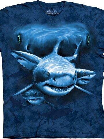 Foto Tričko Oči žraloka - dětské
