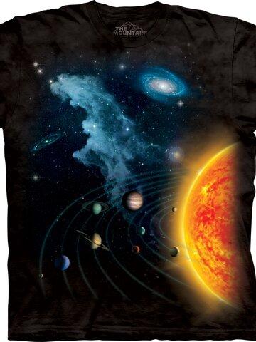 Ajándék tipp Naprendszer póló