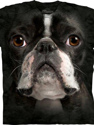 Dedoles oryginalny prezent Boston Terrier Face Child