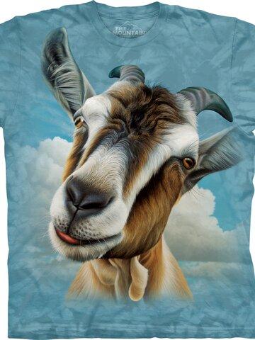 Zľava Tričko Tvár kozy - detské