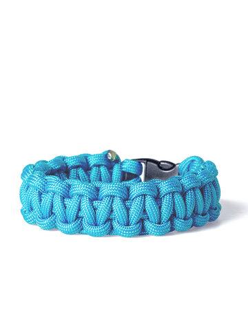 Geschenk von Dedoles Paracord Überleben-Armband blau