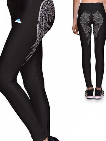 Obrázok produktu Ženske športne elastične pajkice Angelska krila