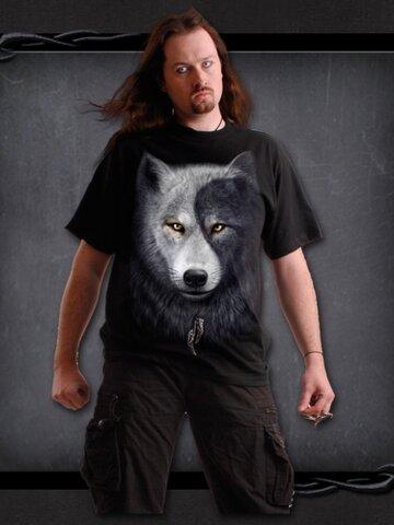 Výpredaj T-shirt Wolf's Face