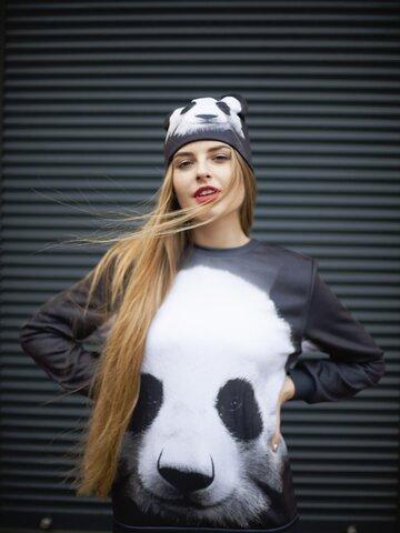Obrázok produktu Mikina bez kapucne Panda
