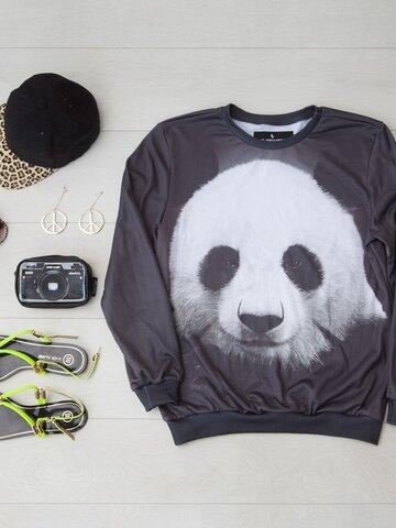 Tip na darček Mikina bez kapucne Panda