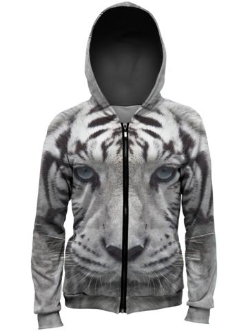 Zľava Jopica z zadrgo Tiger beli