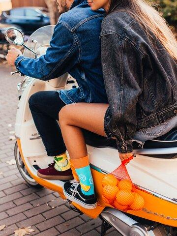 Pre dokonalý a originálny outfit Vesele čarape Spritz