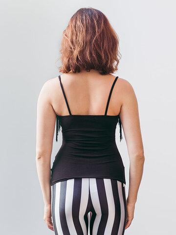 Obrázok produktu Ženske elastične črtaste pajkice