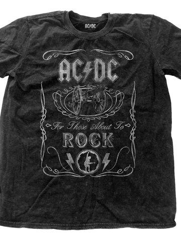 Obrázok produktu Тениска AC/DC Cannon Swig Vintage