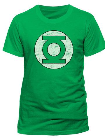 Potešte sa týmto kúskom Dedoles Тениска Green Lantern - Distressed logo