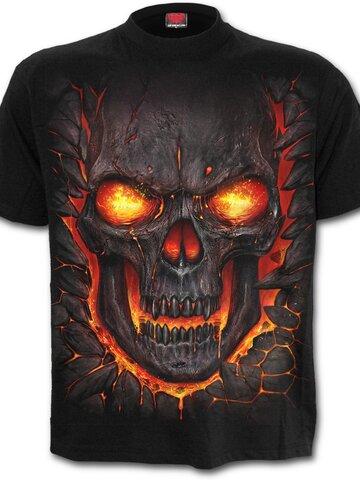 Tip na darček Tričko Skull lava