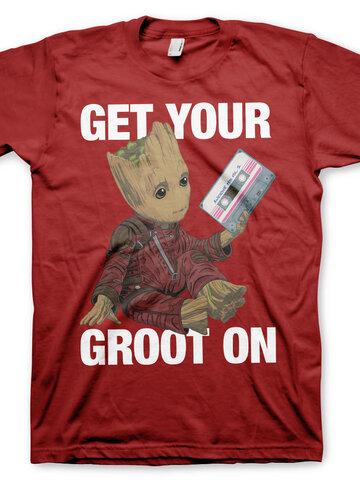 Obrázok produktu Tričko Strážcovia Galaxie Get your Groot On