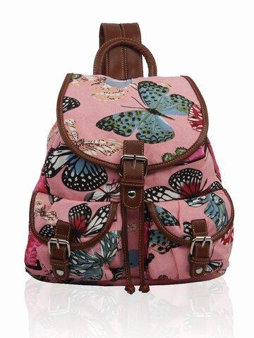 pro dokonalý a originální outfit Růžový vak  butterfly