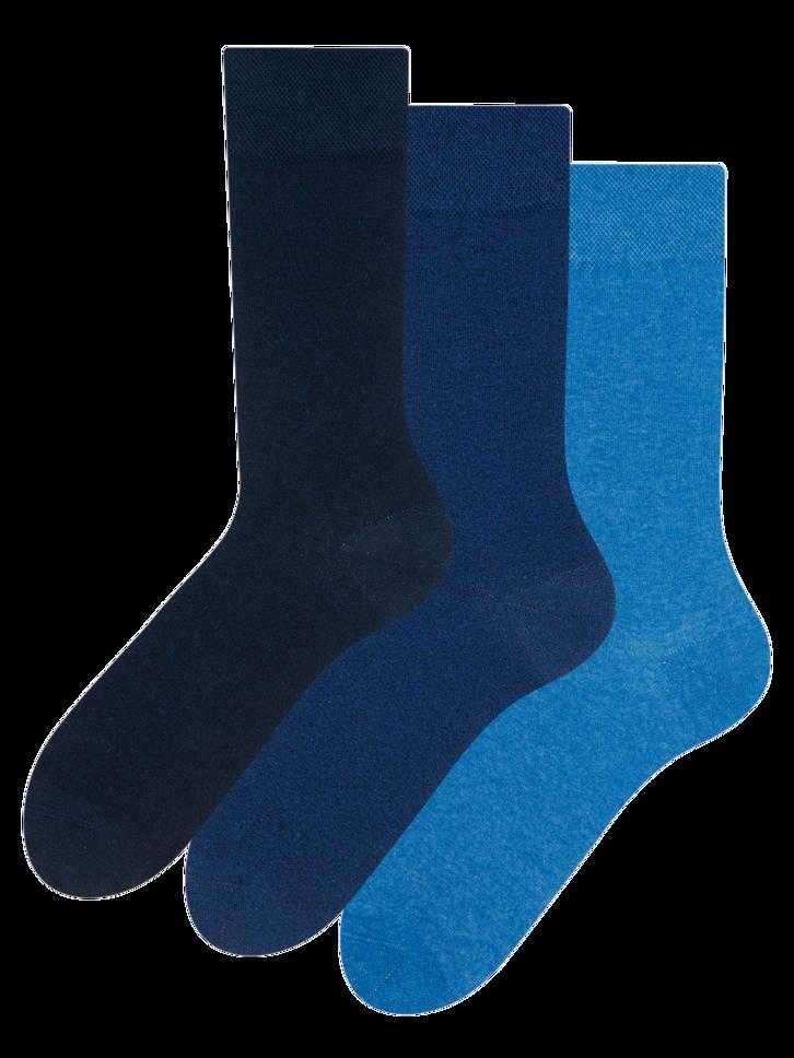 Výpredaj Pack de 3 meias de algodão reciclado Idealista