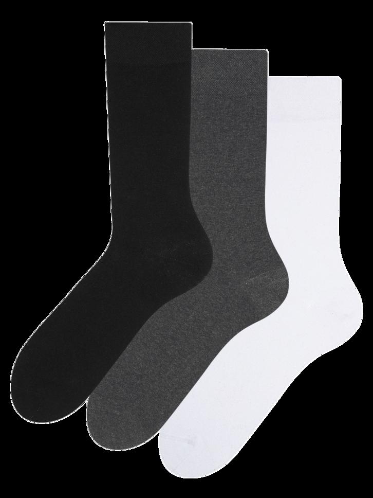 Obrázok produktu Trojbalenie ponožiek z recyklovanej bavlny Klasik